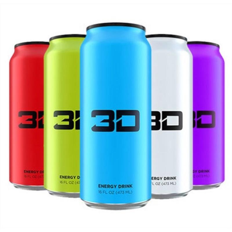 3D Energy Drink, 473ml