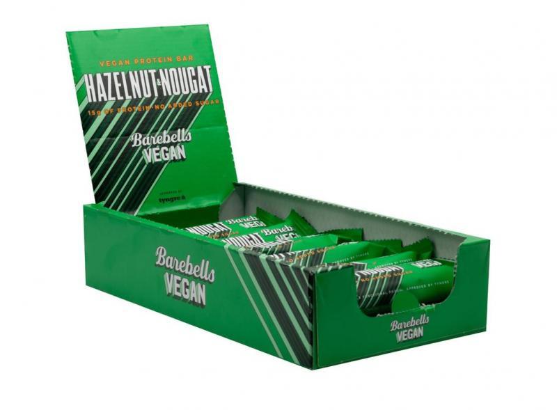 Barebells Vegan Protein Bar,12x55g im Karton