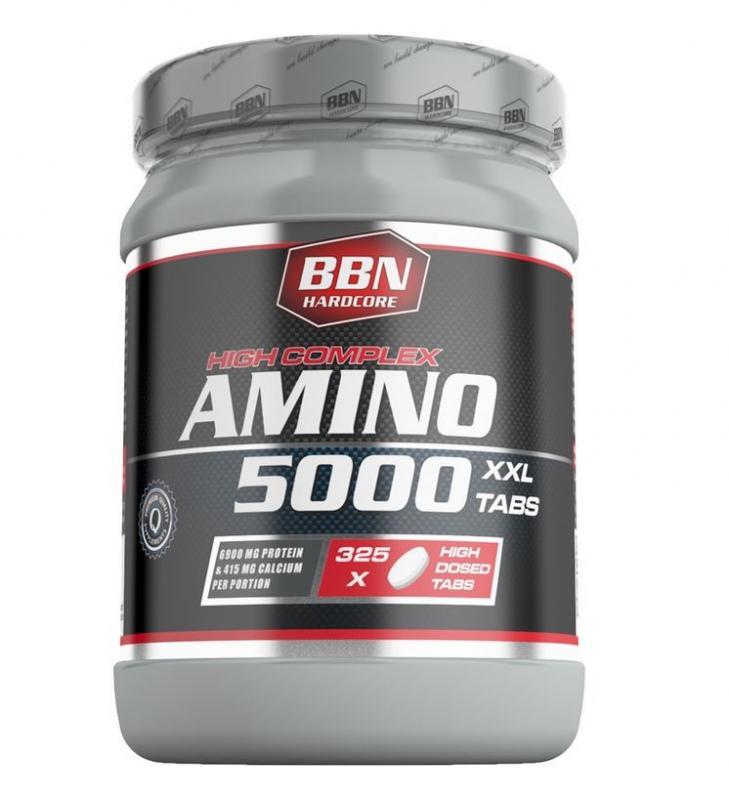 Best Body Nutrition Amino 5000 Tabs, 325 Tabl. (MHD: 05/21)
