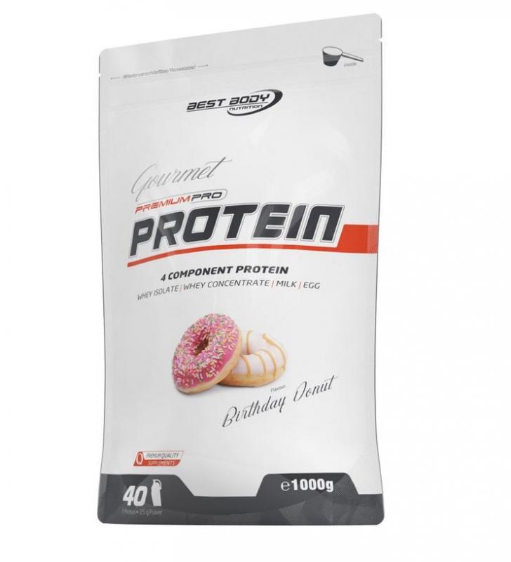 Best Body Nutrition Gourmet Premium Pro Protein, 1000g