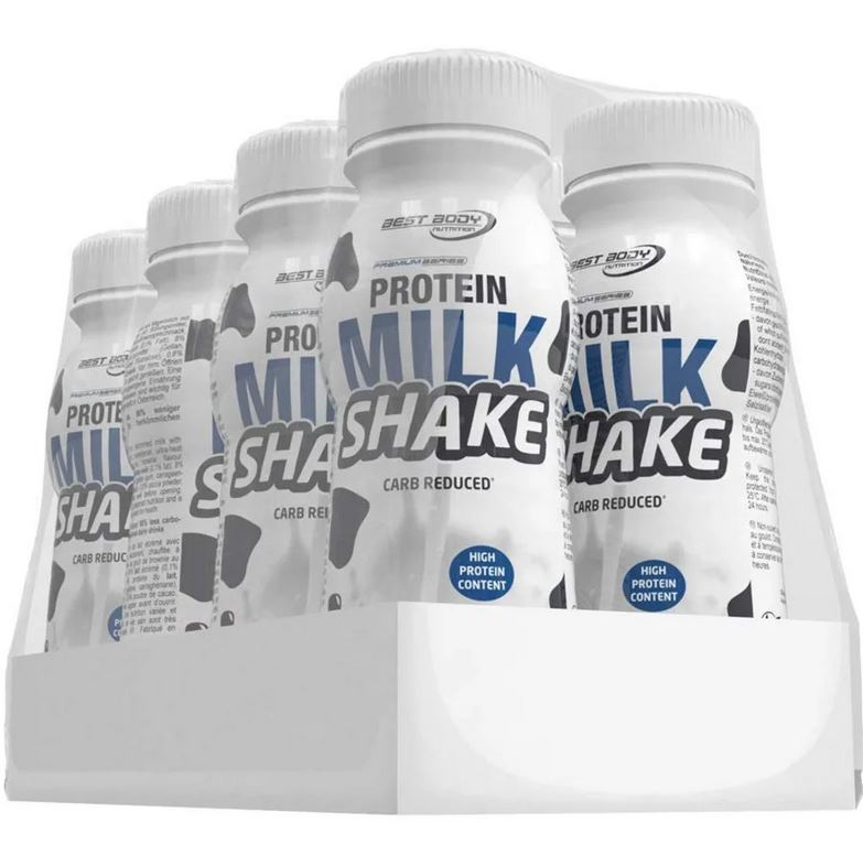Best Body Nutrition Protein Milk Shake, 8x250ml, 1 Tray