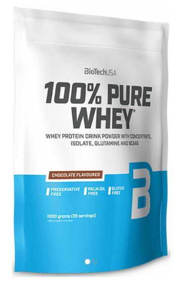 BioTech USA 100% Pure Whey, 1000g Salty Caramel