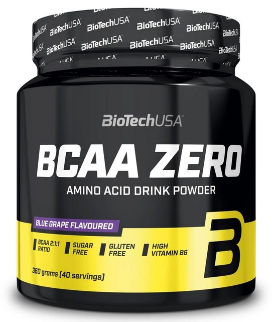 BioTech USA BCAA Zero, 360g Orange