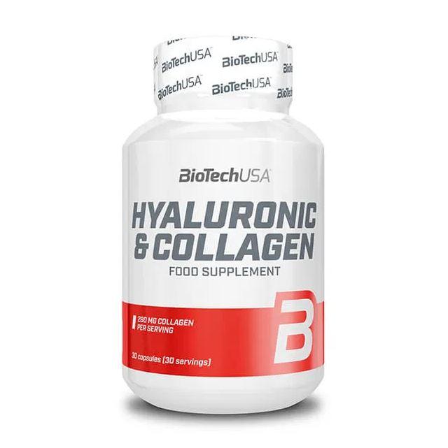 BioTech USA Hyaluronic & Collagen, 30 Kaps.