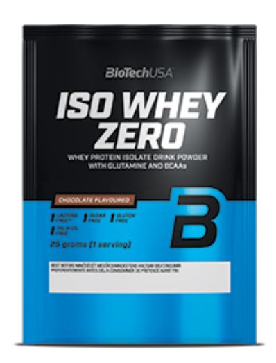 BioTech USA Iso Whey Zero, 25g Caffé Latte
