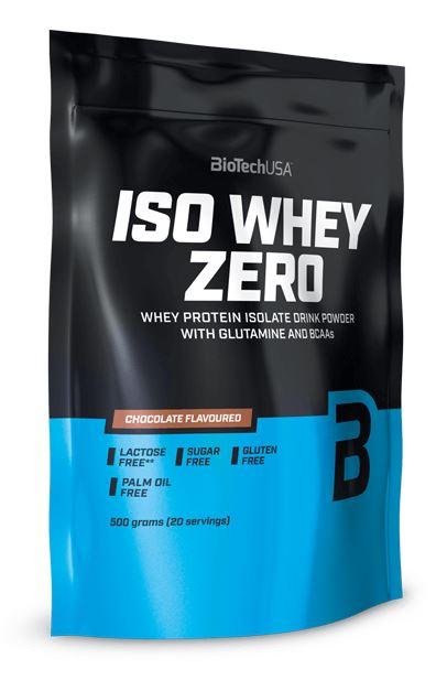 BioTech USA Iso Whey Zero, 500g Cocos
