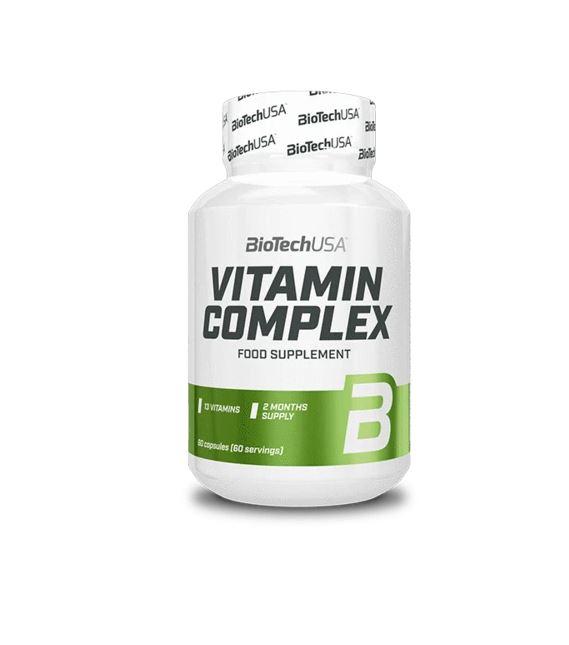 BioTech USA Vitamin Complex, 60 Caps.