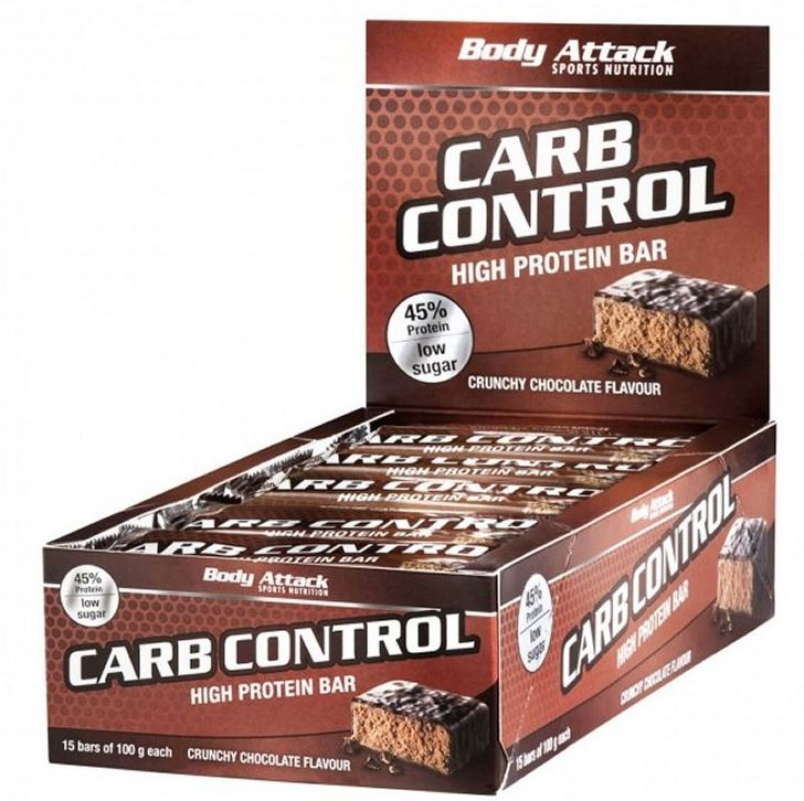 Body Attack Carb Control, 15x100g im Karton