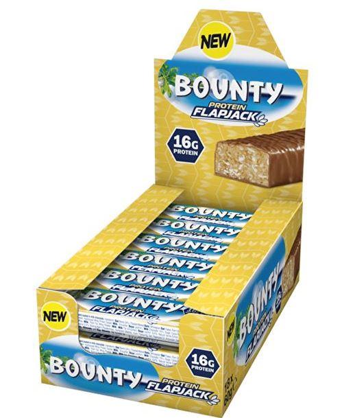 Bounty Protein Flapjack, 18x60g im Karton (MHD: 30/04/20)