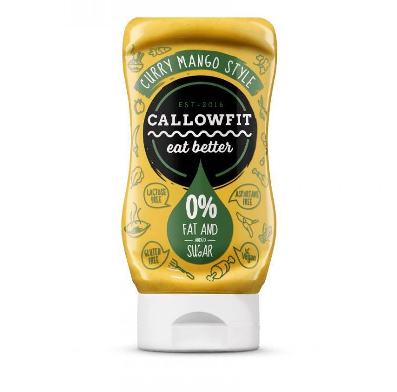 Callowfit Sauce, 300ml Curry Mango