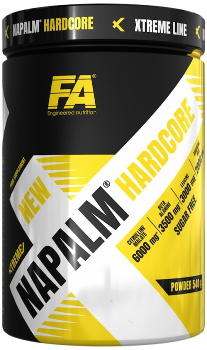 FA Engineered Nutrition Xtreme Napalm Hardcore, 540g