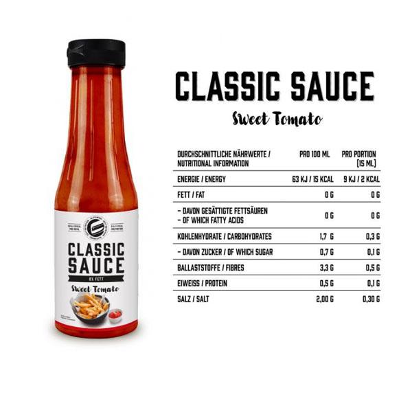 GOT7 Nutrition Classic Sauce, 350ml Sweet Tomato