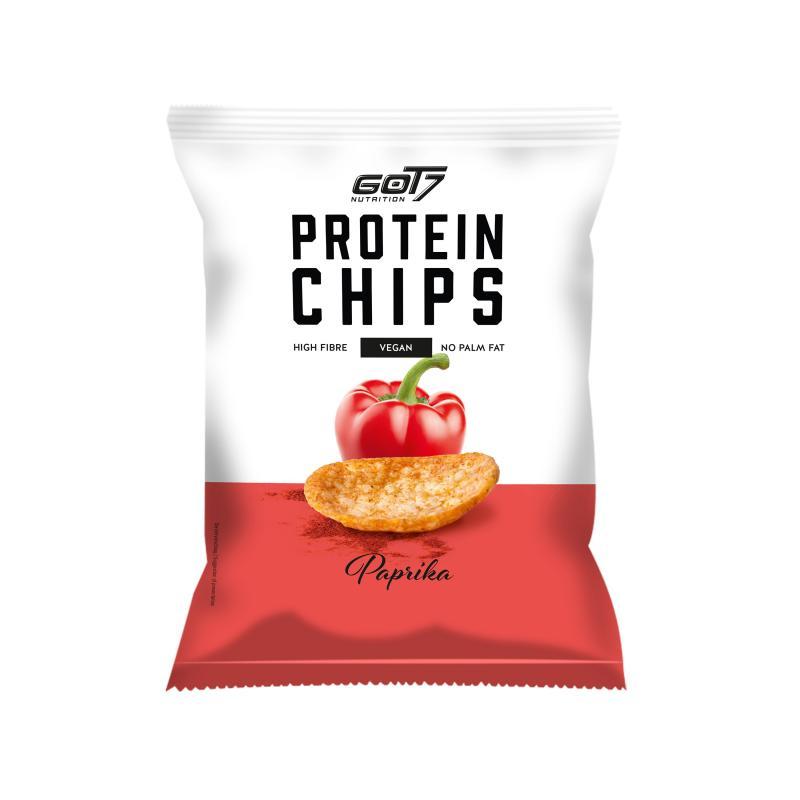 GOT7 Nutrition Protein Chips, 50g Paprika