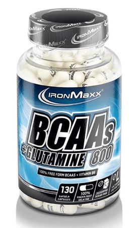 IronMaxx BCAAs + Glutamin 800, 130 Kaps.