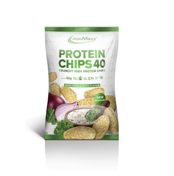 IronMaxx Protein Chips, 50g
