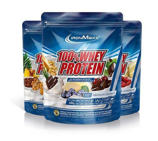 IronMaxx 100% Whey Protein, 500g