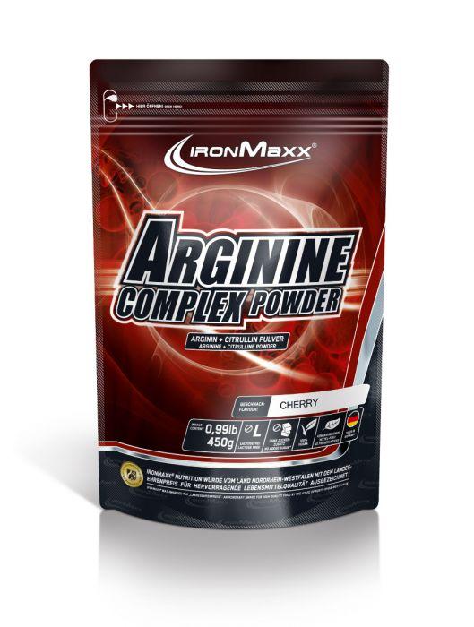 IronMaxx Arginine Complex Powder, 450g (Restpostenware)