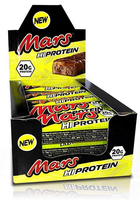 Mars Hi Protein, 12x 59g im Karton