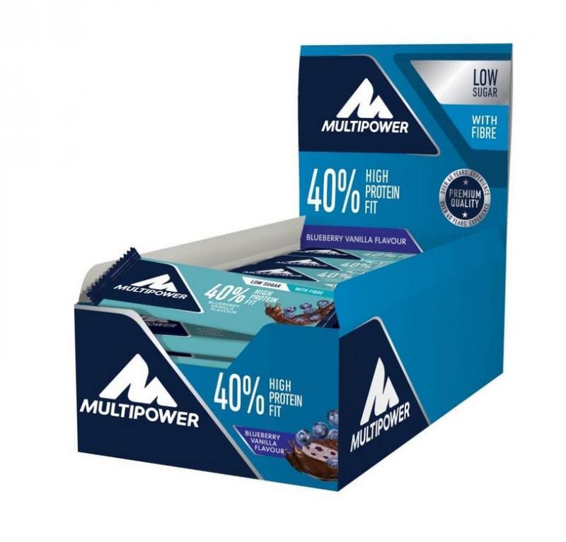 Multipower 40% Protein Fit Bar, 24x35g im Karton