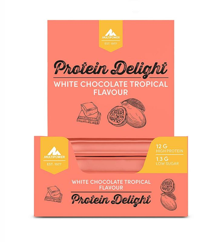 Multipower Protein Delight, 18x 35g im Karton (MHD Ware)