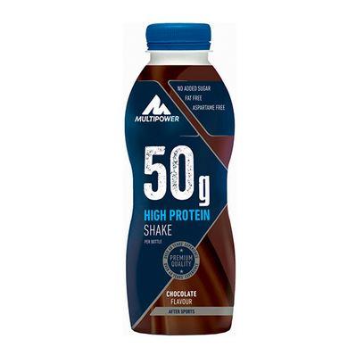Multipower 50g Protein Shake, 500ml Chocolate