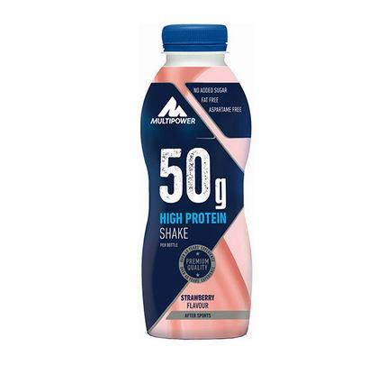 Multipower 50g Protein Shake, 500ml Strawberry