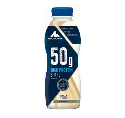 Multipower 50g Protein Shake, 500ml Vanilla