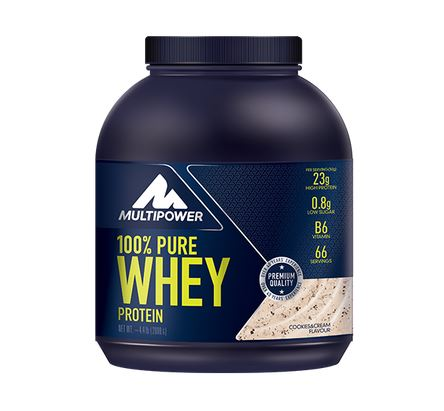 Multipower 100% Pure Whey, 2000g Cookies & Cream