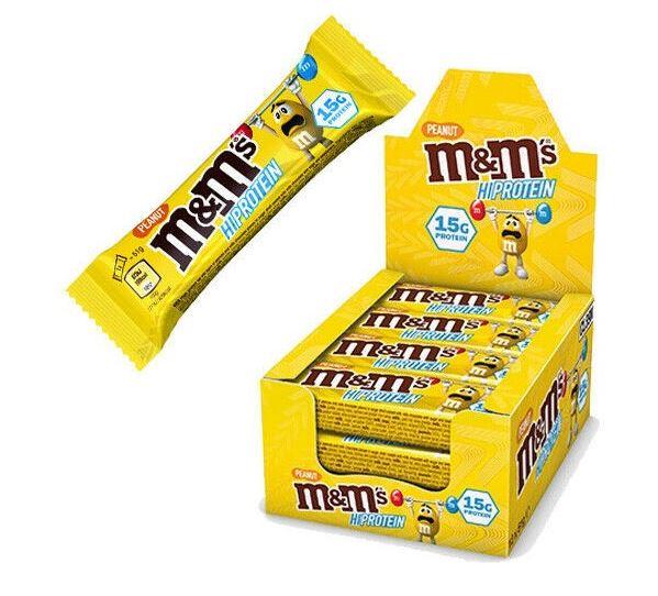 M&M´s Hi Protein, 12x51g im Karton