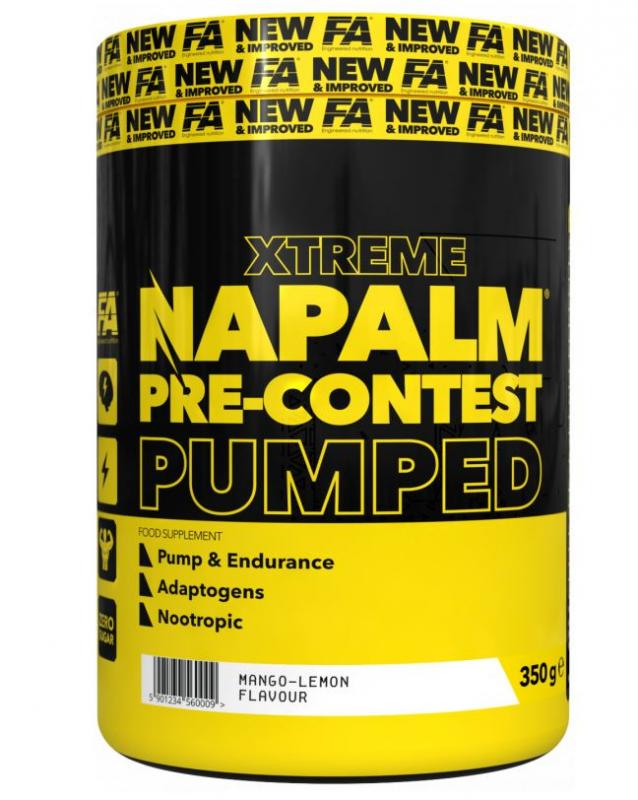 FA Engineered Nutrition Napalm Pre Contrest Pumped, 350g