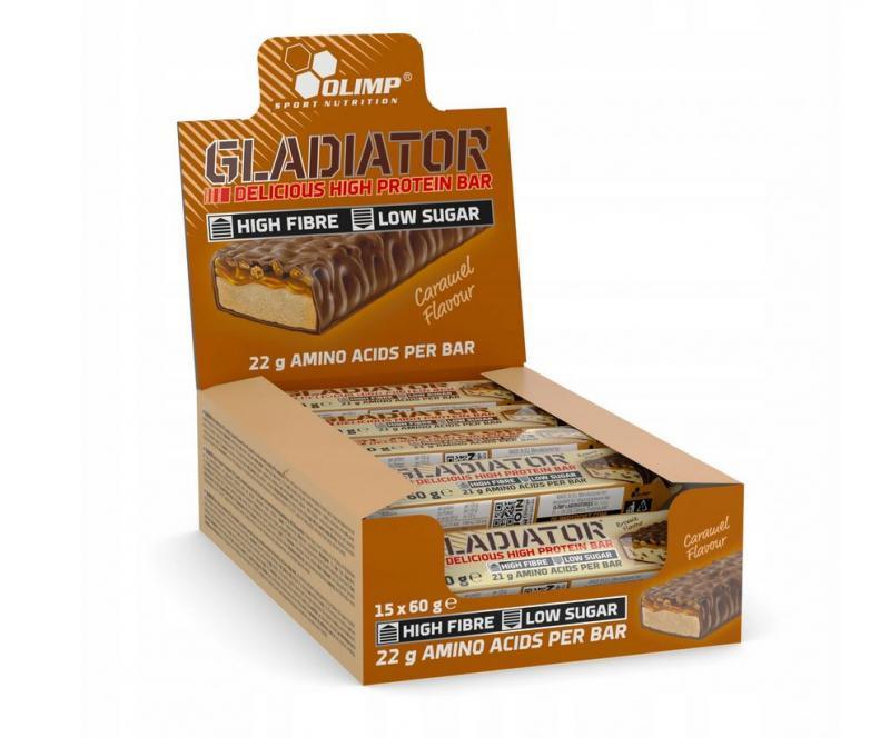 Olimp Gladiator Bar, 15x60g im Karton