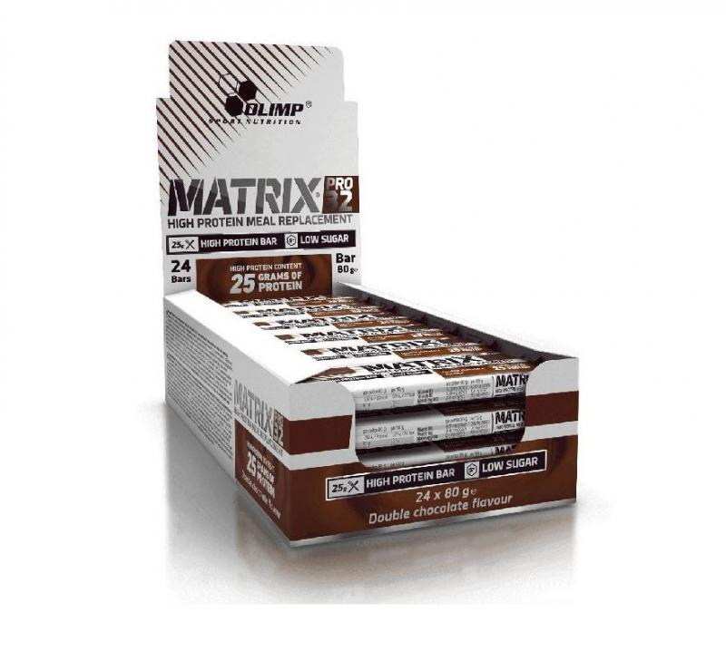 Olimp Matrix Pro 32 Bar, 24x80g im Karton
