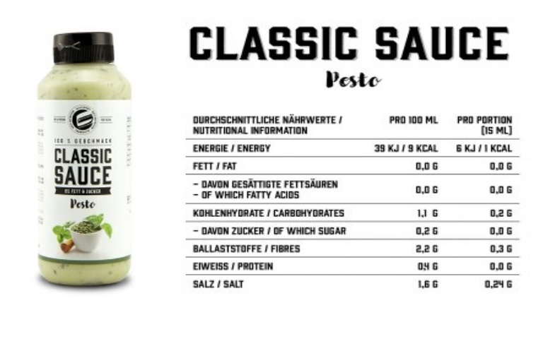 GOT7 Nutrition Pesto Sauce, 265ml