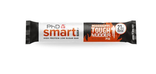 PhD Smart Bar, 64g Mississippi tough Mudder Pie