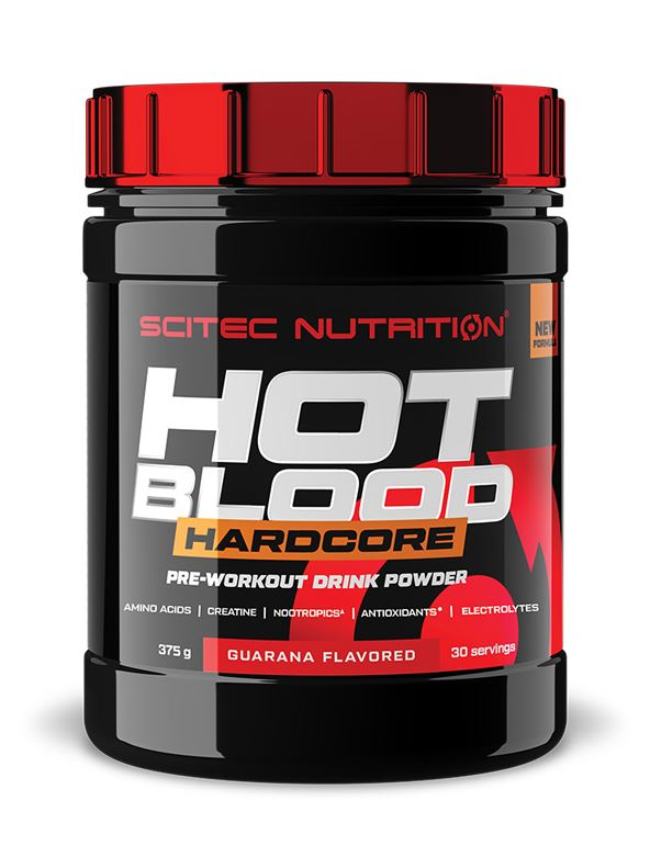 Scitec Nutrition Hot Blood Hardcore, 375g