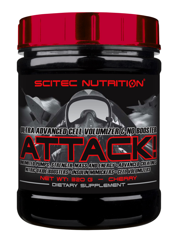 Scitec Nutrition Attack 2.0, 320g