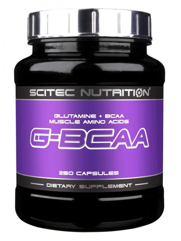 Scitec Nutrition G-BCAA, 250 Kaps.