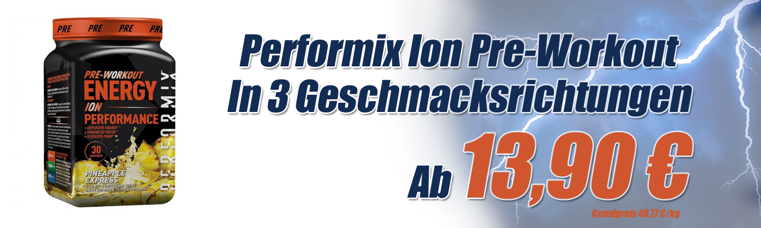 Performix Ion Pre Workout